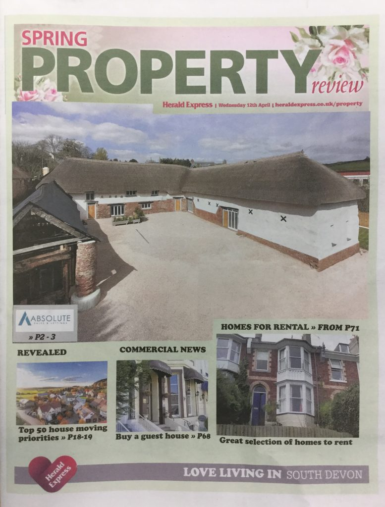 Spring Property View Front Page